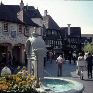 Fantasyland Fountain