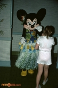 Minnie Mouse at the Polynesian Resort
