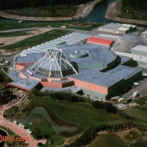 The Land Pavilion Aerial