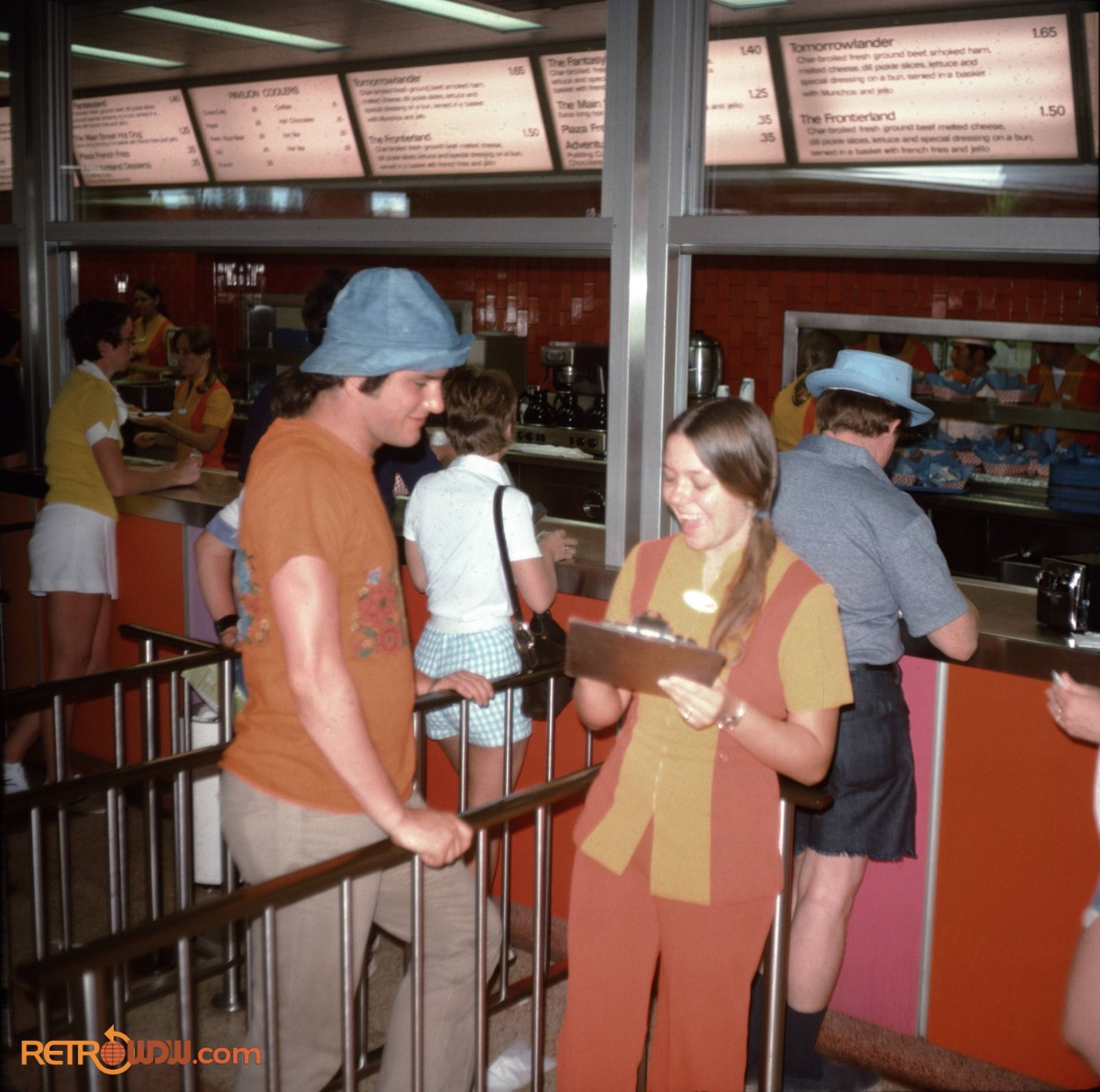 Tomorrowland Terrace Order