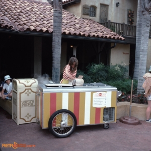Adventureland Ice Cream Cart