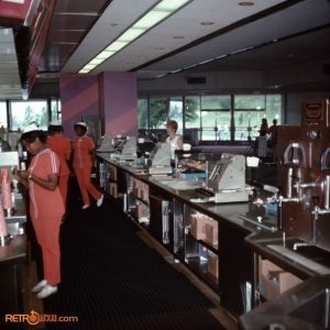 Tomorrowland Terrace Counter