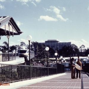 Magic Kingdom Monorail Station