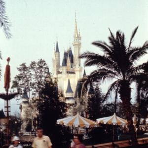 Magic Kingdom December 1971 Adventureland Castle