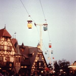 Fantasyland Skyway 1971