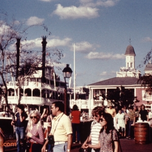 Liberty Square with Riverboat