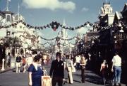 Christmastime on Main Street USA