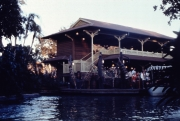Leaving the Jungle Cruise dock