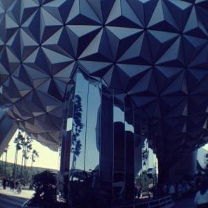 Spaceship Earth Mirrored Base
