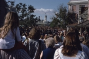 Crowds of Liberty Square