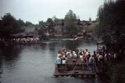 Rivers of America Tom Sawyer Rafts and Thunder Mountain