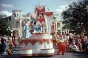 Main Street Parade Cinderella Float