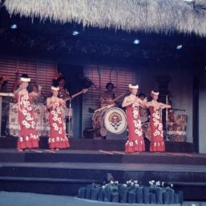 Polynesian Resort Luau Dancers 1984