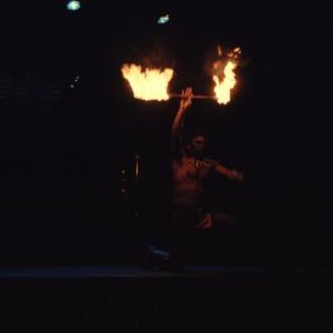 Polynesian Luau Fire Batton Twirling