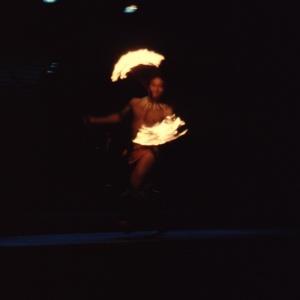 Polynesian Luau Fire Dancer