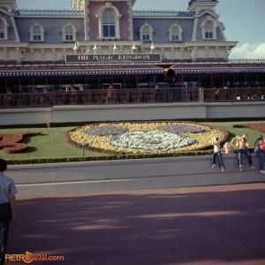 1970 Magic Kingdom  Entrance