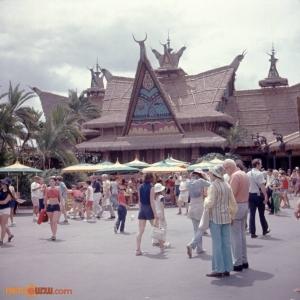 Magic Kingdom Adventureland 1970