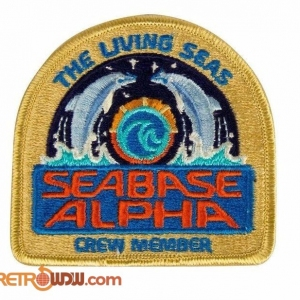 Living Seas Cast Member Patch