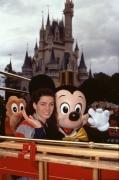 Nancy Kerrigan & Mickey Mouse