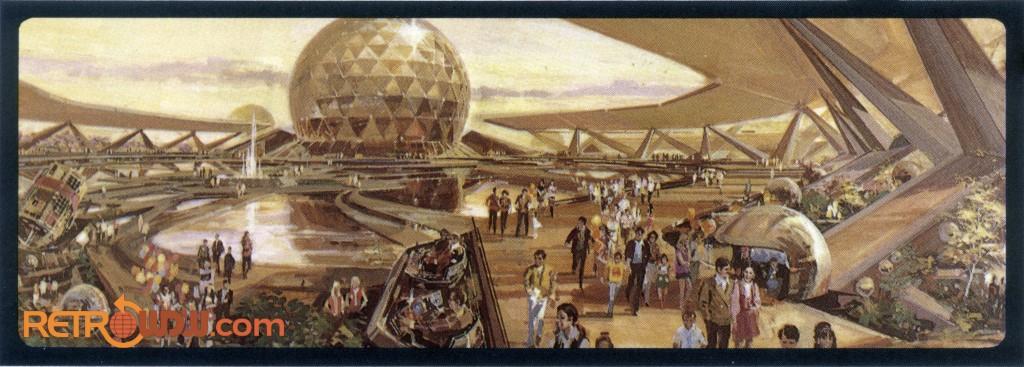 EPCOT Concept Art 1977