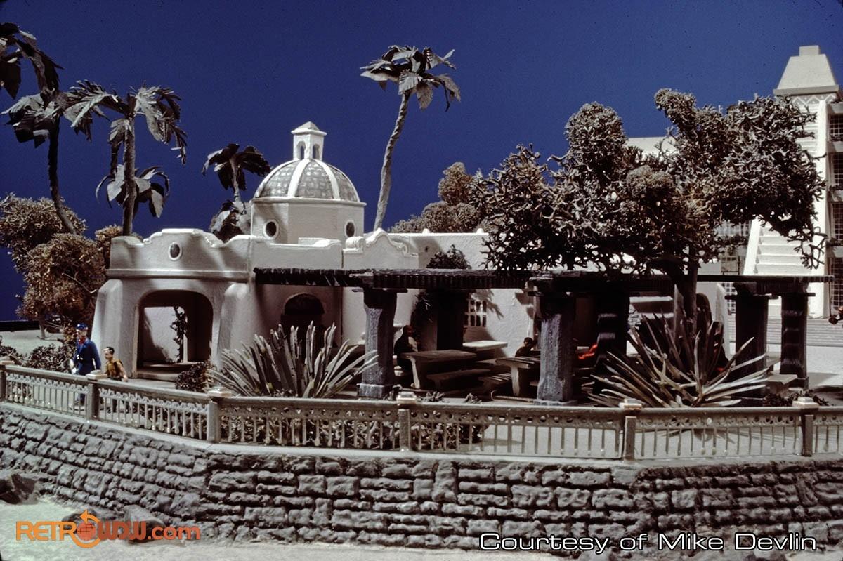 Mexico Pavilion Concept Model (August 8, 1979)