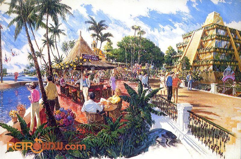 Mexico Pavilion Concept Art