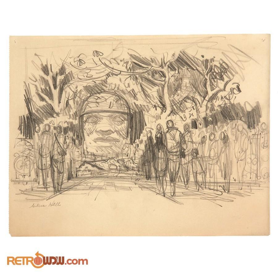 EPCOT Mexican Pavilion Concept - Clem Hall