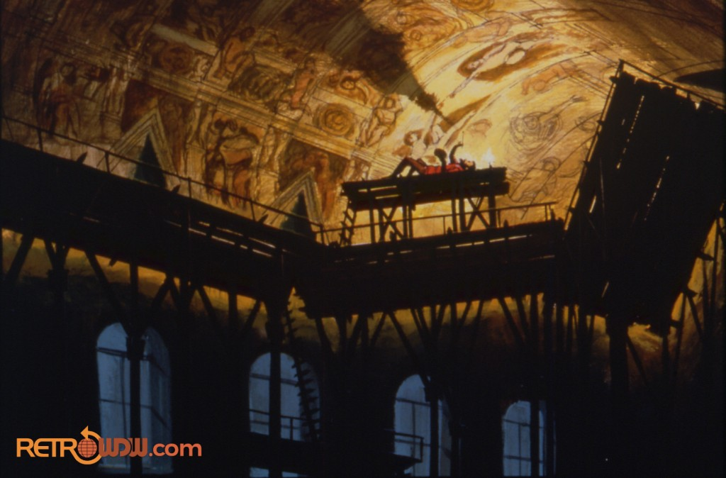 Spaceship Earth Concept Art (Sistine Chapel)
