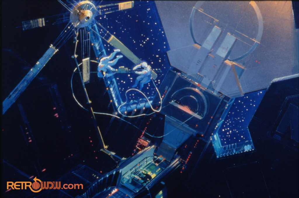 Spaceship Earth Concept Art (Planetarium Sequence)