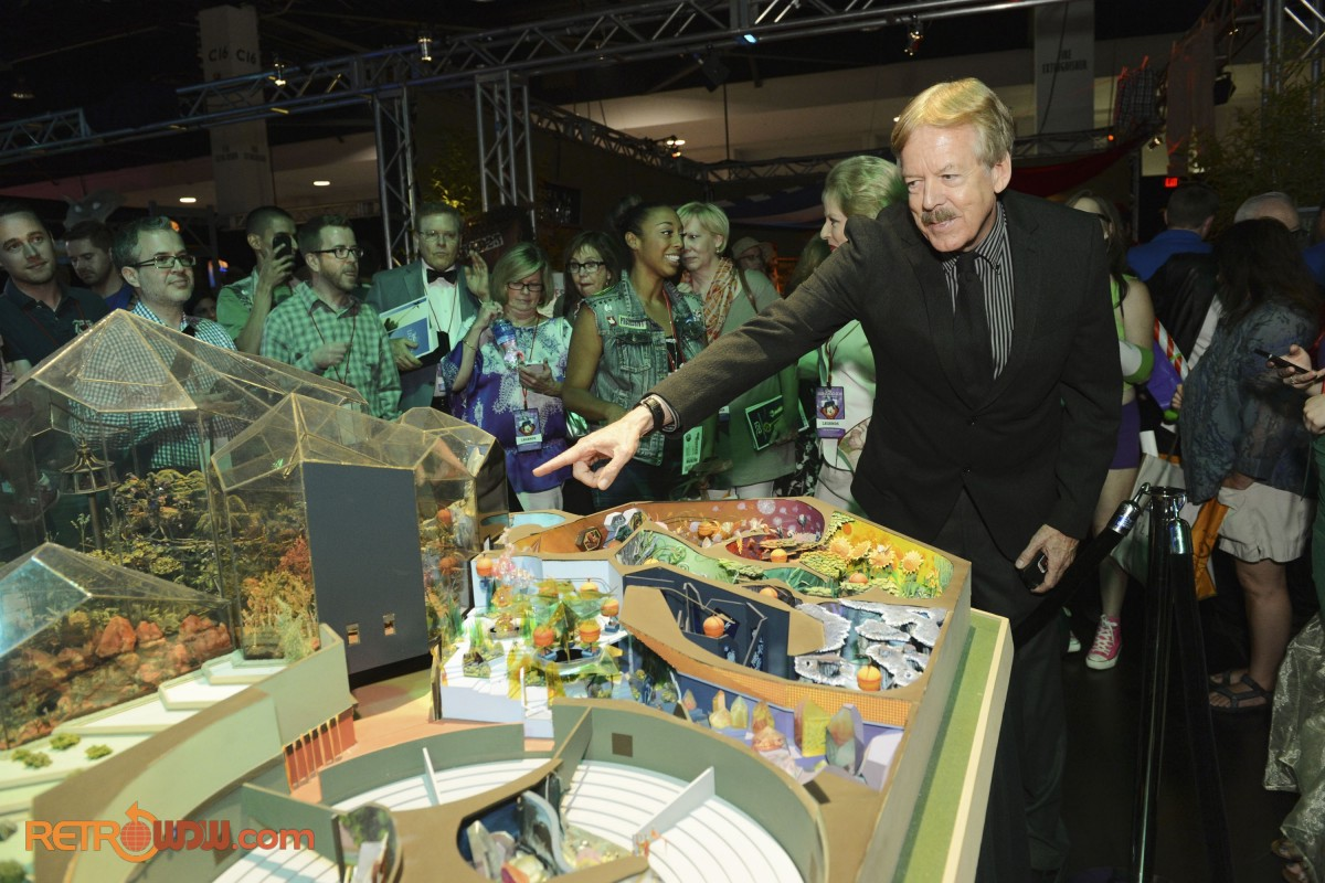 Tony Baxter & His Original Land Pavilion Model