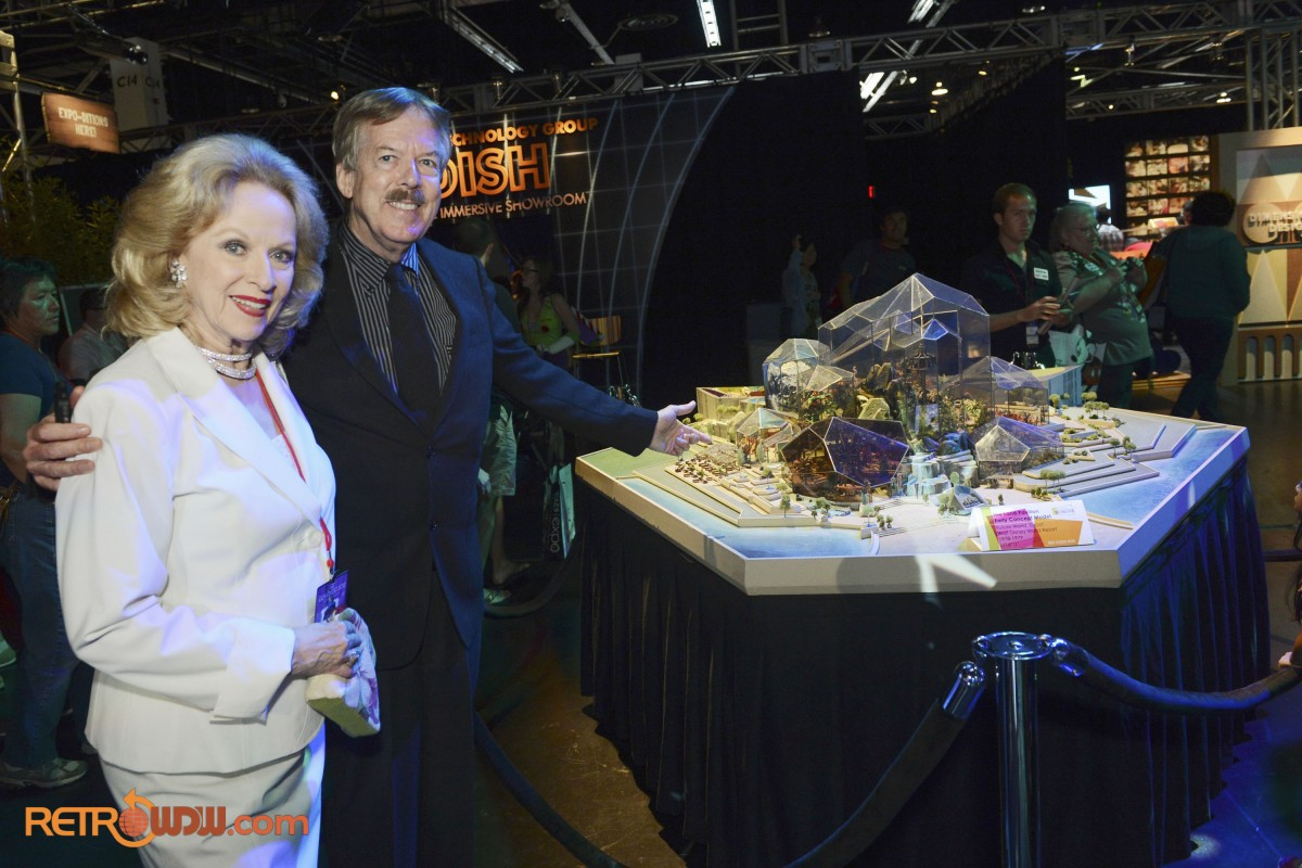 Tony Baxter & Mary Costa