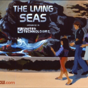 Living Seas Entrance Concept Art