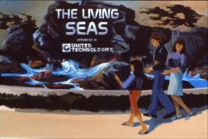 Living Seas Entrance Concept Art
