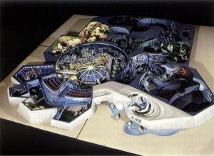 The Living Seas Model