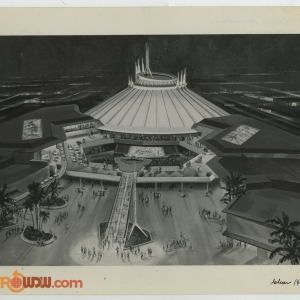 Space Mountain Signed Reference Photo - Clem Hall