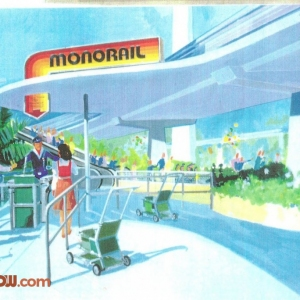 Monorail Station Concept