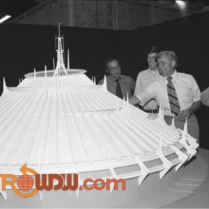 Model of Space Mountain