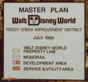 WDW Master Plan Map Key