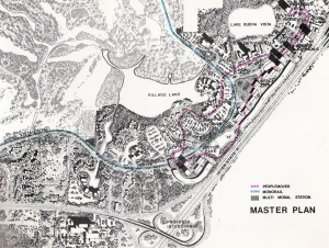 1976 Lake Buena Vista Master Plan