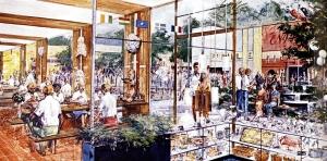 Lake Buena Vista Shop concept art