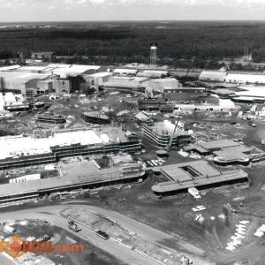 Disney-MGM Studios Under Construction