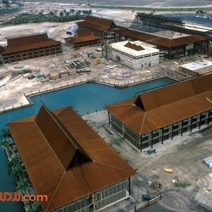 Polynesian Village Resort Construction