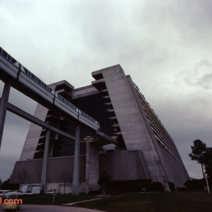 Monorail Entering the Contemporary 1983