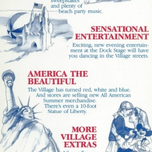 Disney Village All American Summer '86 Back