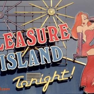 Pleasure Island Jessica Signage