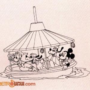 Bob-A-Round Boat Art