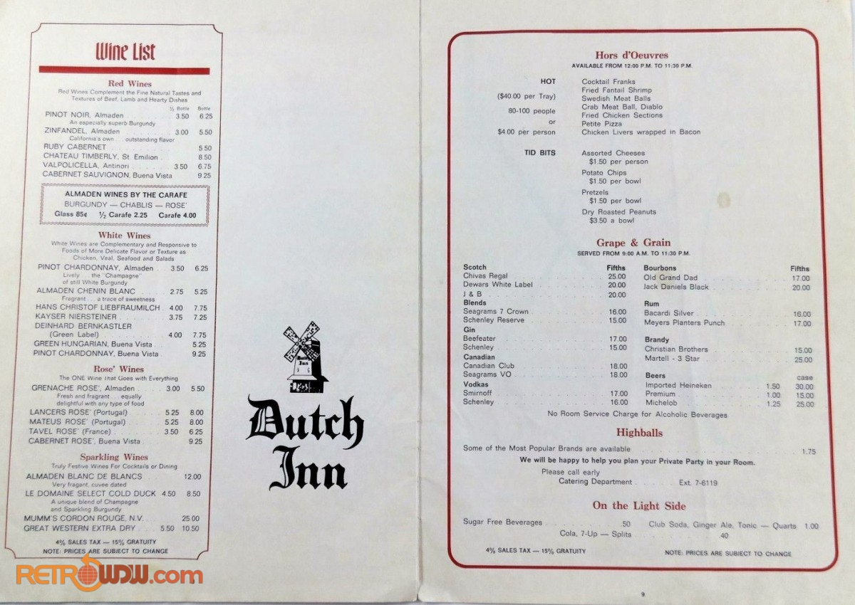 Dutch Inn February 1976