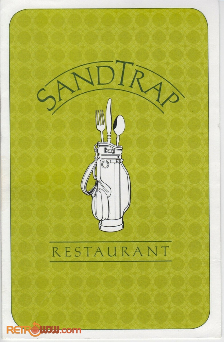 Osprey Ridge Sandtrap Menu - Cover
