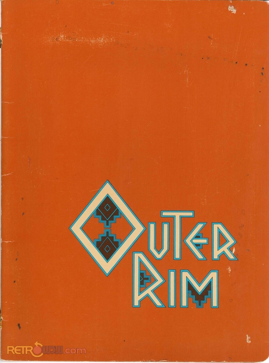 Outer Rim Lounge Menu - 1980 (Cover)