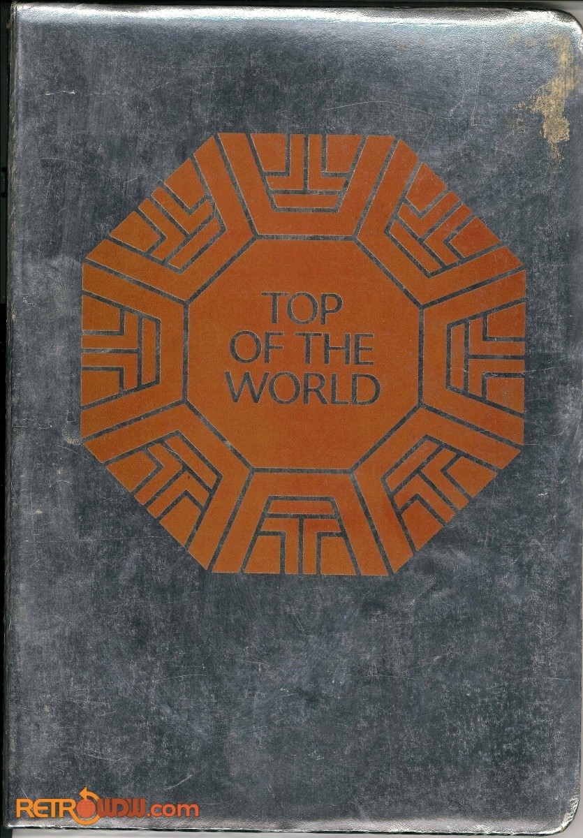 Top of the World Menu - 1980 (Front Cover)